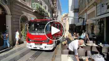 Sanremo, incendio in pieno centro - Riviera24
