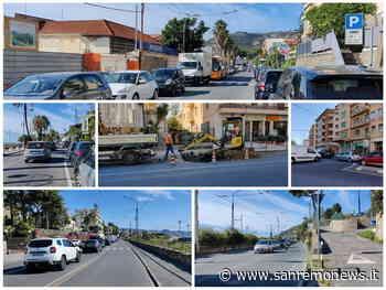 Sanremo: si rompe un tubo alla Foce, code che arrivano quasi a Bordighera e automobilisti inviperiti (Foto e Video) - SanremoNews.it