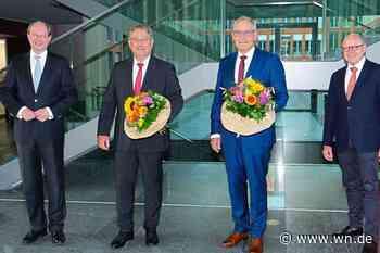 Neuer Vorstand aus  bewährten Kräften mit Richter und Scholz
