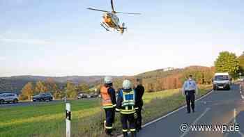 Netphen: Motorradfahrer auf Haincher Höhe schwer verletzt - Westfalenpost