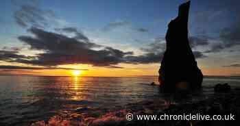 Beautiful autumn equinox sunrise at Ryhope Beach captured in 10 photographs