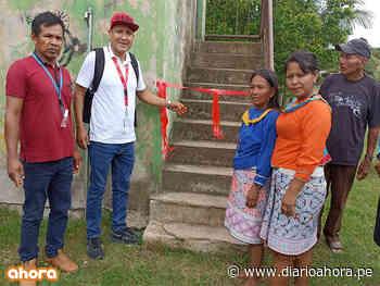 Garantizan agua saludable a cc. nativa Nueva Betania - DIARIO AHORA