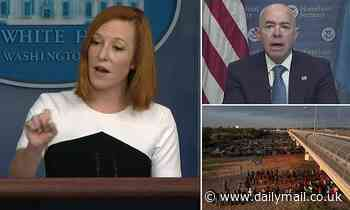 Psaki finally agrees to release the number of Haitian migrants apprehended that were let into US