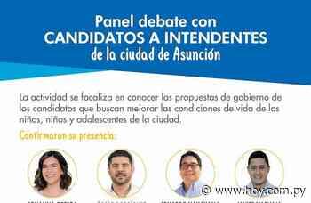 Candidatos en Asunción presentarán sus propuestas para la niñez y la adolescencia - Hoy