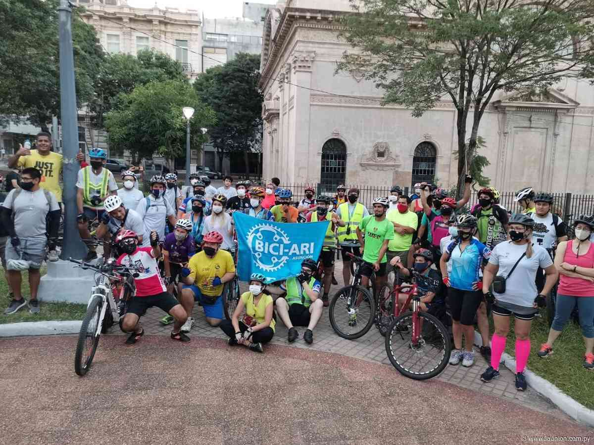 """Organizan paseo en bicicleta por Asunción para celebrar el """"Día Mundial Sin Auto"""" - La Unión - launion.com.py"""