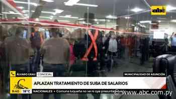 Junta Municipal de Asunción aplaza tratamiento de suba de salarios - ABC Color