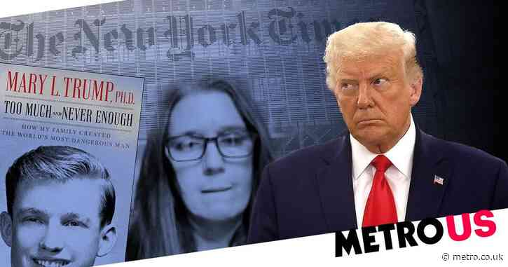 Donald Trump sues his niece Mary and New York Times over tax report