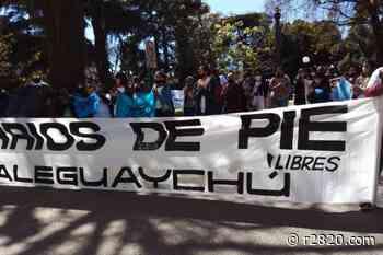 Barrios de Píe Gualeguaychú se sumó a la protesta nacional - La Ciudad - r2820.com