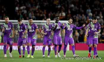 Wolves 2-2 Tottenham (2-3 pens): Nuno Espirito Santo's men squeeze through on penalties