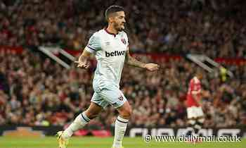 West Ham draw Manchester City in fourth round of Carabao Cup after win at Old Trafford
