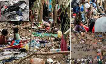 Shocking pictures show the squalid and fetid migrant camp under the Del Rio bridge