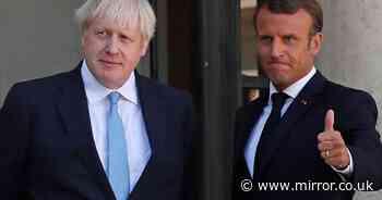 Boris Johnson accuses French president of behaving like jilted lover over submarine row