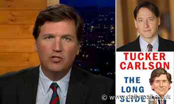 Tucker Carlson slams his own publisherSimon & Schuster in his new book's introduction