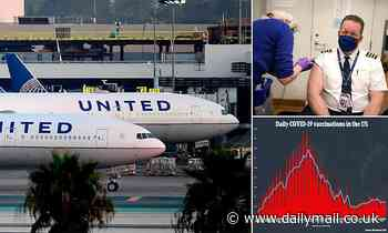 United Airlines says 97% of its US staff have had their COVID vaccine as their deadline approaches
