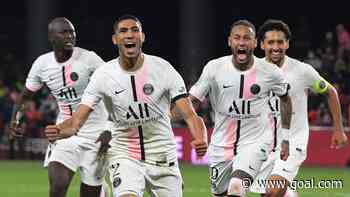 Hakimi double saves PSG at Metz to stretch perfect Ligue 1 start