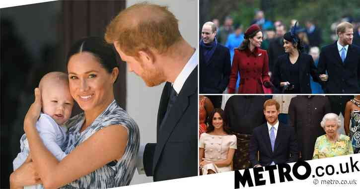 Harry and Meghan 'bringing Archie and Lili to UK for Christmas'