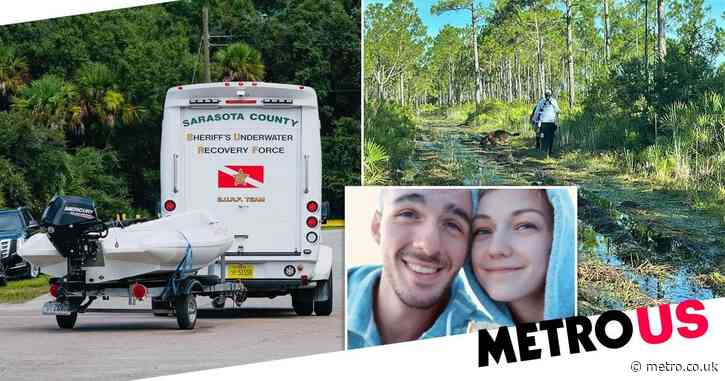 Underwater dive team searches for Brian Laundrie a day after Gabby Petito's death ruled a homicide
