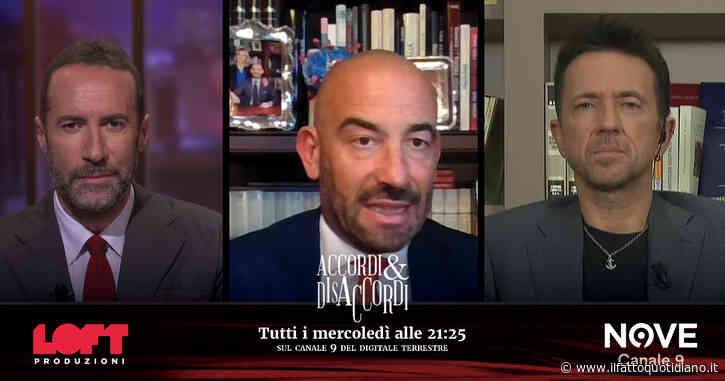 """Matteo Bassetti ospite ad Accordi&Disaccordi (Nove): """"Bisogna allentare le restrizioni. Le mascherine? Utili solo per chi ne ha bisogno"""""""