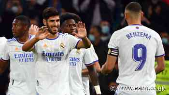 Real Madrid's Asensio gets 9/10 for hat trick in thrashing of Mallorca