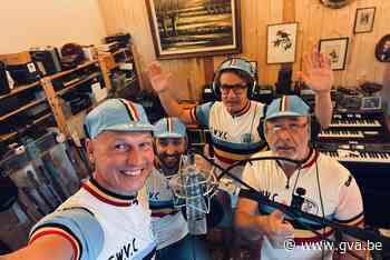 Koersende Kemphanen zingen Wout naar goud op de melodie van Mie Katoen - Gazet van Antwerpen