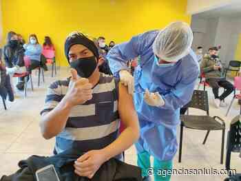 Vacunación contra el Coronavirus: más de 5.800 personas citadas este jueves en nueve localidades - Agencia de Noticias San Luis