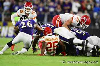 Finding the Run Game Would Solve A Lot Of Problems For the Chiefs - Zone Coverage