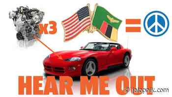Here's How To Solve The Iran Nuclear Situation With Dodge Vipers - Jalopnik