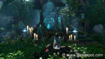 Kena: Bridge Of Spirits Fishing Shrine Guide - How To Solve The Torch Puzzle In The Forgotten Woods - GameSpot