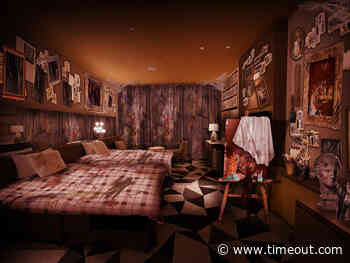 Solve a mystery overnight at this horror hotel room at Universal Studios Japan - Time Out