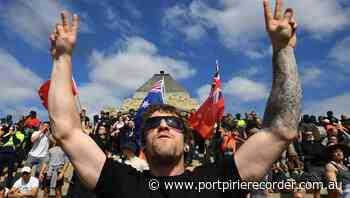 Vic shrine rally ends in violence, arrests - The Recorder