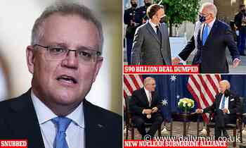 French president Emmanuel Macron SNUBS Scott Morrison's phone call amid nuclear submarines fallout