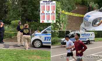 Man is found dead with rope tied around his neck in possible homicide in NYC's Central Park
