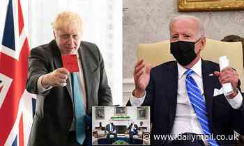 STEPHEN GLOVER: Lesson from Boris's U.S. trip: Biden is a liability for Britain and can't be trusted