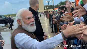 PM Narendra Modi reaches US, to meet Vice-President Kamala Harris today