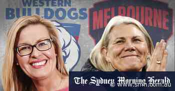 'New era': In an AFL first, women lead both this year's grand finalists