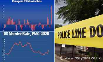 Homicides rose by 30% in 2020 - the biggest rise in murders since national records began in 1960