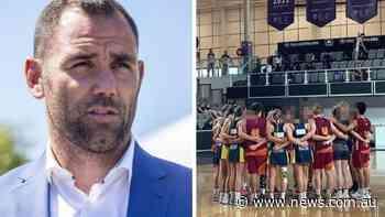 'Bulls***': Backlash as boys win netball final