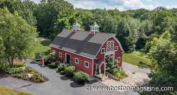 On the Market: A Converted Post and Beam Barn in New Hampshire - Boston magazine