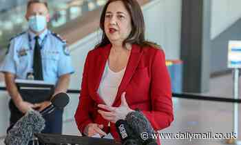 'We'll all be in lockdown': Fiery moment Annastacia Palaszczuk clashes with media