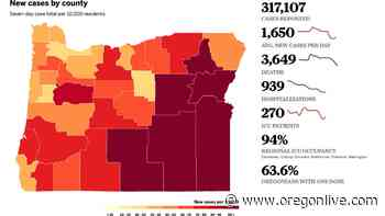 Coronavirus in Oregon: September now fourth-deadliest month of the pandemic - OregonLive