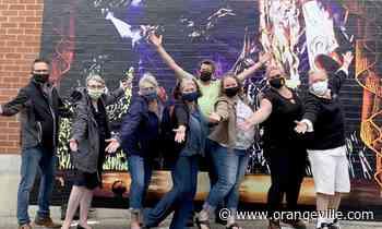 New Orangeville mural unveiled downtown - Orangeville Banner