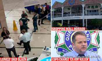Reason Queensland dad of 5 was wandering Cairns shopping centre before stranger 'slit his throat '