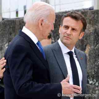 Frankrijk en VS strijken plooien glad na telefoontje tussen presidenten Macron en Biden