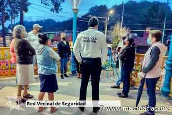 Invita Seguridad Ciudadana a integrarse a las Redes Vecinales en Xalapa - MÁSNOTICIAS