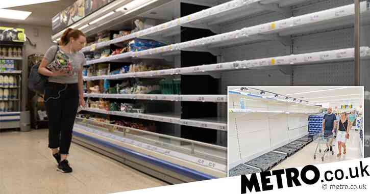 Tesco warns Christmas panic buying could be worse than first lockdown
