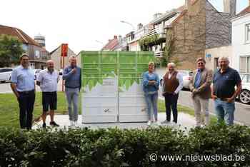 Eerste pakjesautomaten duiken op in dorp en duinen - Het Nieuwsblad