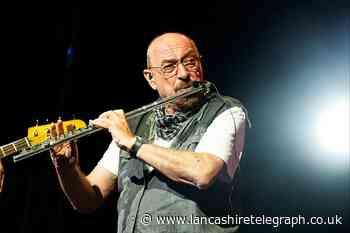 Ian Anderson on road with Jethro Tull heading to Blackburn
