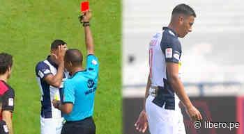 Alianza Lima se queda con 10 hombres ante Melgar tras expulsión de Valenzuela - Libero.pe