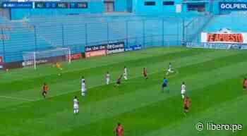 Iberico estuvo cerca del primero en el Alianza Lima vs. Melgar tras blooper de Míguez - Libero.pe
