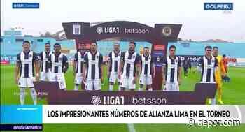 Alianza Lima: Los impresionantes números del cuadro blanquiazul en la Liga 1 - Diario Depor